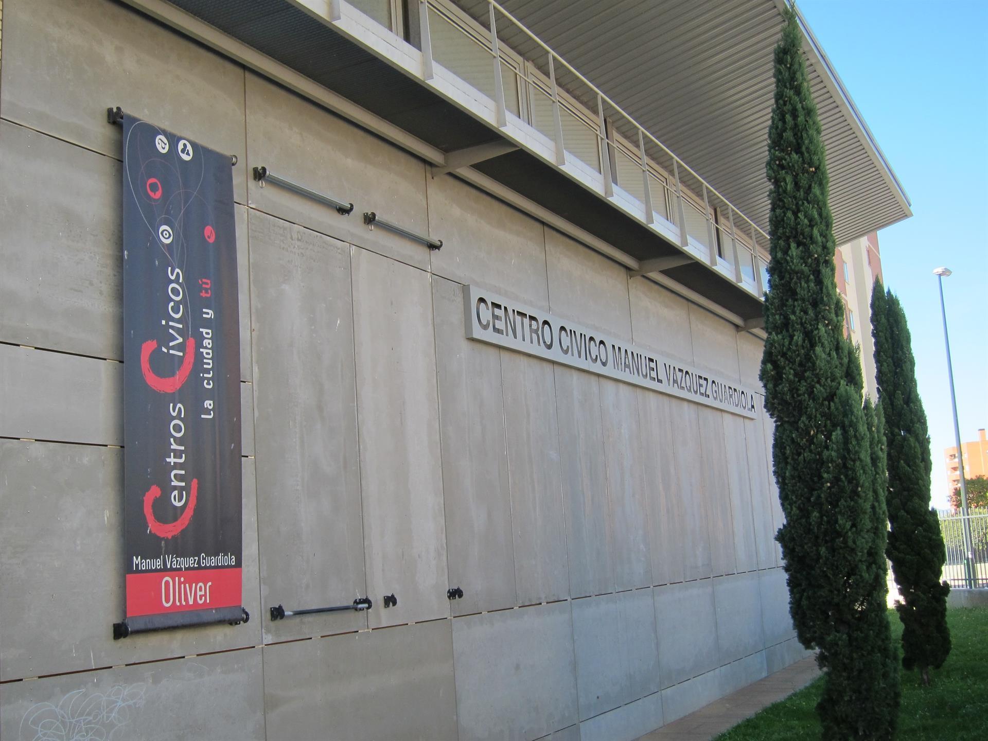 Centro Cívico del barrio Oliver - EUROPA PRESS - Archivo