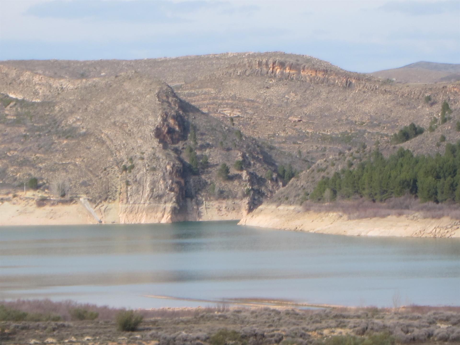 Los embalses de la cuenca del Ebro, al 69% de su capacidad.