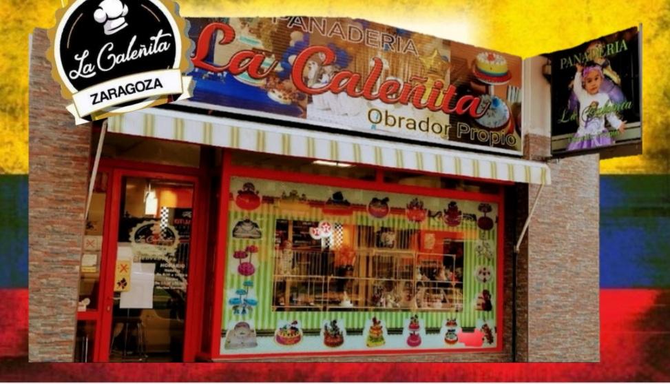 Pastelería de Zaragoza La Caleñita - fachada